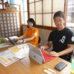 【インターンシップ@福島】旅館の業務体験をしています!