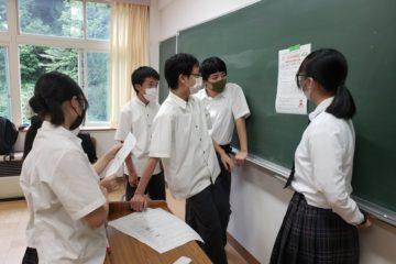 【福島県立川口高校】探求授業の様子