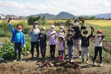 【子ども農園】10月活動報告