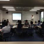 代表の伴場が、政策研究大学院大学で7月8日、「危機管理・緊急対応」の講義を行いました。